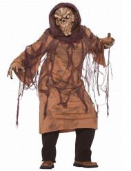 Moorleiche Halloween Kostüm für Herren braun