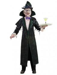 Schauriges Vampir-Kostüm mit Maske Halloween