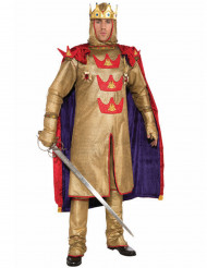 Königliches Herrenkostüm Herrscher gold