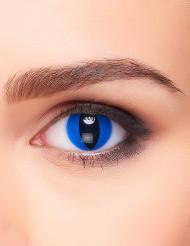 Kontaktlinsen Phantasie Reptil blue eye Erwachsene