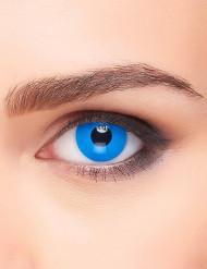 Schlichte Kontaktlinsen Jahreslinsen blau
