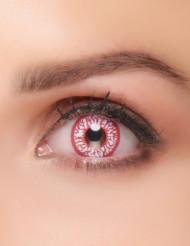 Kontaktlinsen Fantasie blutunterlaufen Auge Erwachsene Halloween