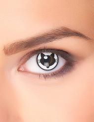Accessoires Kontaktlinsen Verrückte Katze für Erwachsene