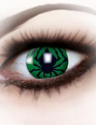Kontaktlinsen Spinnenkostüm Erwachsene Halloween