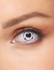 Schaurige Kontaktlinsen für Erwachsene im Stacheldraht-Design