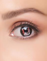 Kontaktlinsen Fantasie Vampirzähne Erwachsene Halloween