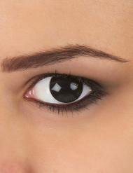 Kontaktlinsen extravagantes schwarzes Auge 1 Jahr Erwachsene