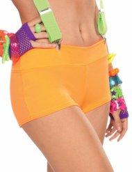 Disco-Panty 80er- 90er-Jahre für Damen orange