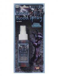 Künstliches Zombie-Blut für Halloween schwarz