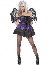 Gothic Fee Kostüm für Damen Halloween