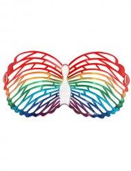 Bunte Schmetterling-Brille für Erwachsene