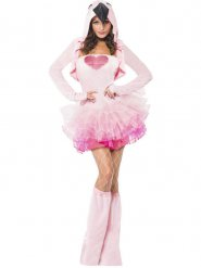 Sexy Flamingo Kostüm für Damen