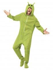 Alien Kostüm Overall für Erwachsene
