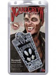 Werwolf Zähne Kostümzubehör Halloween weiß