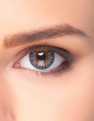 Fantasy-Kontaktlinsen für Erwachsene - 3-farbig - schwarz/grau/braun