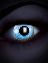 UV-Kontaktlinsen blaue Diamanten Erwachsene