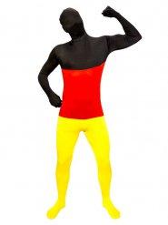 Deutschland-Morphsuit Kostüm Fanartikel schwarz-rot-gold