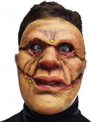 Monster-Maske mit Schnittwunden Halloween