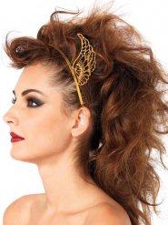 Haarreif goldene Flügel Damen