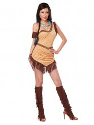 Sexy Indianer Kostüm für Damen