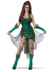 Märchen-Fee Damenkostüm tödliche Schönheit Faschings-Verkleidung grün