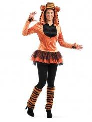 Sexy Tiger-Kostüm für Damen