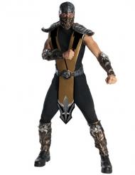 Mortal Kombat™-Superhelden-Kostüm schwarz-silber
