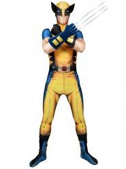 Wolverine™ Digital Morphsuit Kostüm für Erwachsene gelb Marvel™