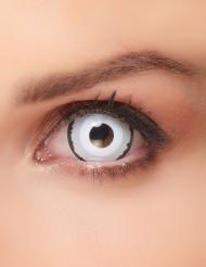Sclera Venus Kontaktlinsen für Erwachsene weiß-schwarz