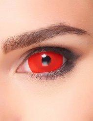 Effekt-Kontaktlinsen für Erwachsene rot