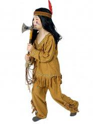 Indianer Kostüm für Jungen mit Fransen