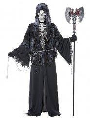 Erschreckendes Sensenmann Kostüm Herren Halloween