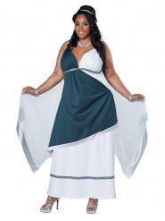 Römische Göttin Kostüm Damen blau