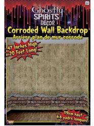 Wanddekoration verfallene Mauer