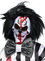 Accessoire Clownmaske Horror mit Perücke