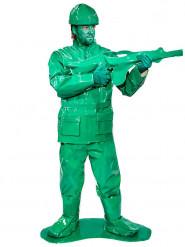 Spielzeug Soldaten Kostüm für Herren 7-teilig grün