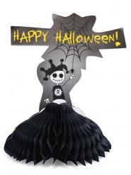Tischdeko Happy Halloween schwarz