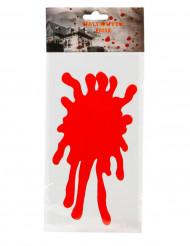 Fensterbild Blutfleck 30x15cm Halloween