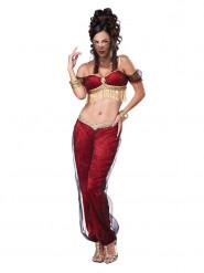 Orientalische Bauchtänzerin Kostüm für Damen rot
