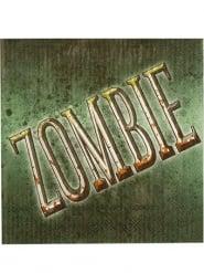 Zombie-Servietten in Grün