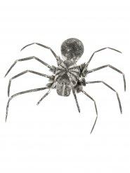 Vogelspinne Halloween Party-Deko schwarz-grau 110cm