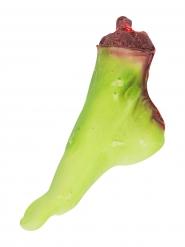 Blutiger Zombie-Fuß 25x7x15cm Halloween