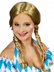 Blonde Perücke Zöpfe Damen