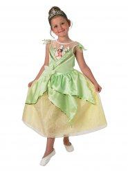 Kleine Prinzessin Tiana™-Mädchenkostüm grün-gelb