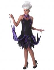 Ursula™-Disney Verkleidung für Halloween Arielle™ schwarz-lila