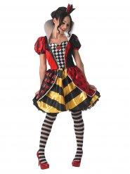 Herzkönigin Kostüm für Damen Alice im Wunderland™