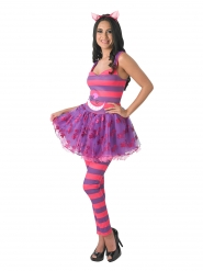 Grinsekatze Kostüm Alice im Wunderland™ Damen
