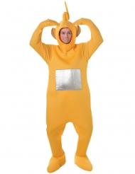 Teletubbies™-Laa Laa Kostüm Lizenzartikel für Erwachsene rot