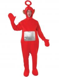 Teletubbies™-Po Kostüm Lizenzartikel für Erwachsene rot