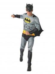 DC Batman™-Lizenzkostüm für Erwachsene Superheld grau-schwarz-gelb